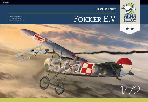 Arma Hobby Fokker E.V Expert Set