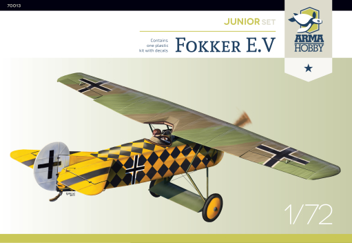 Arma Hobby Fokker E.V Junior set