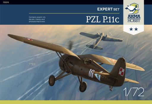 Arma Hobby PZL P.11c Expert Set
