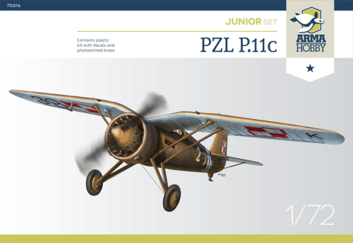 Arma Hobby PZL P.11c Junior Set