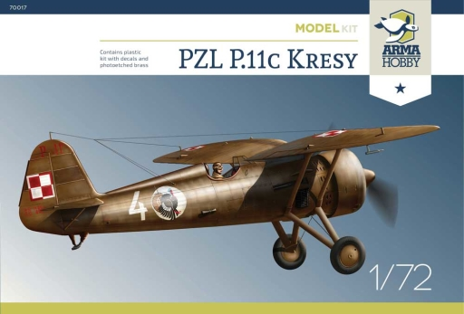 "Arma Hobby PZL P.11c ""Kresy"" Model Kit"