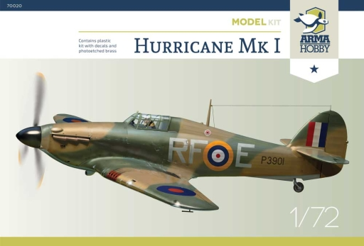 Arma Hobby 1/72 Hurricane Mk I Model Kit