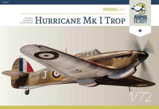 Arma Hobby Hurricane Mk I Trop Model Kit