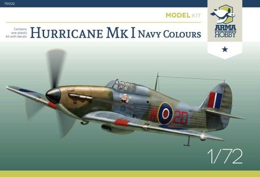 Arma Hobby Hurricane Mk I Navy Colours Model Kit