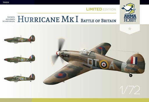 Arma Hobby Hurricane Mk I - Battle of Britain - Limited Edition