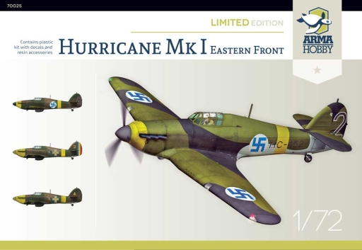 Arma Hobby Hurricane Mk I Eastern Front