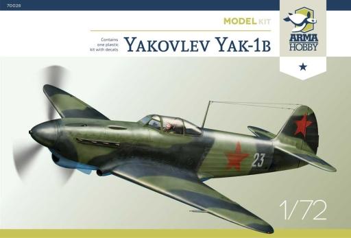 Arma Hobby Yakovlev Yak-1b Model Kit