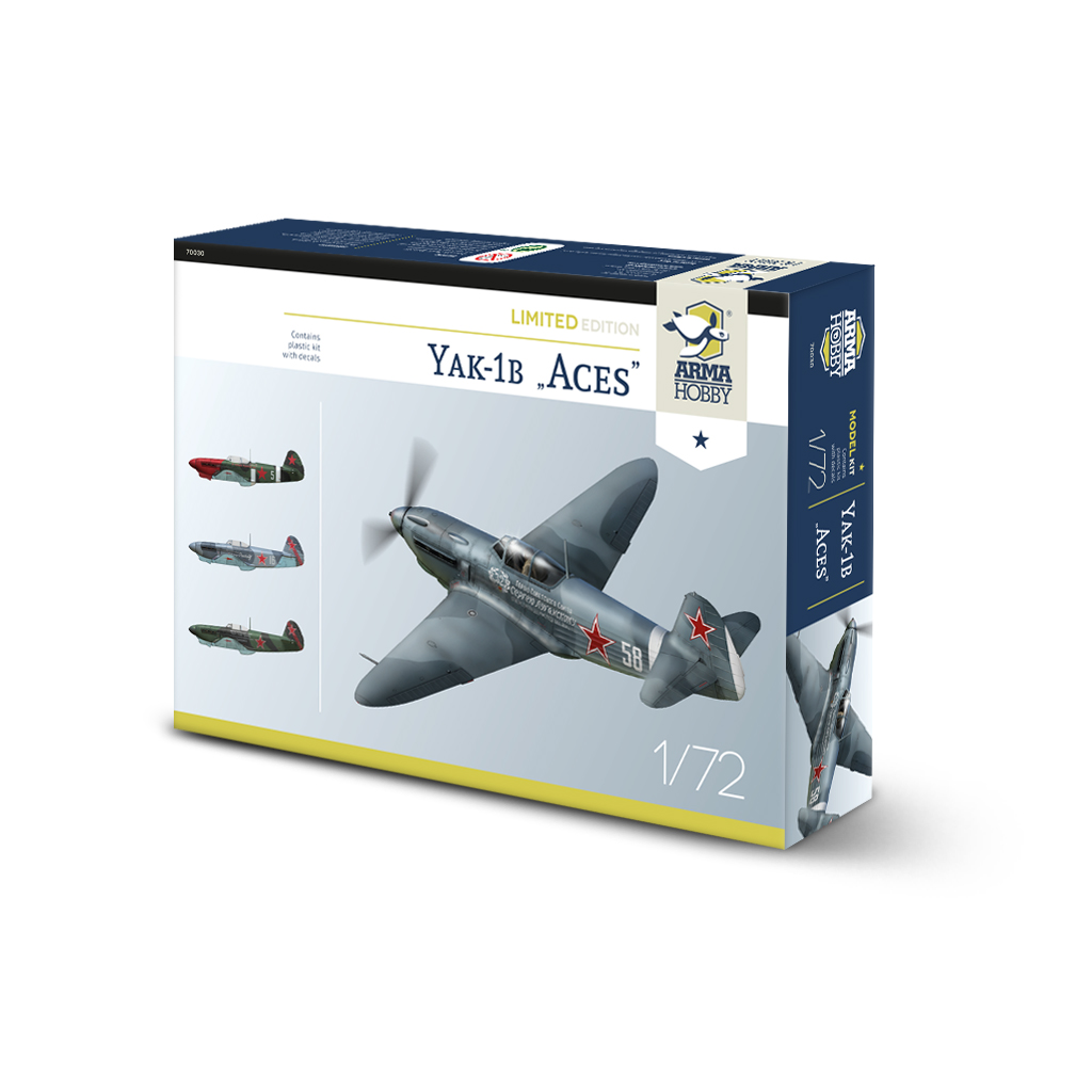 Arma Hobby Yak-1B Aces Limited Edition