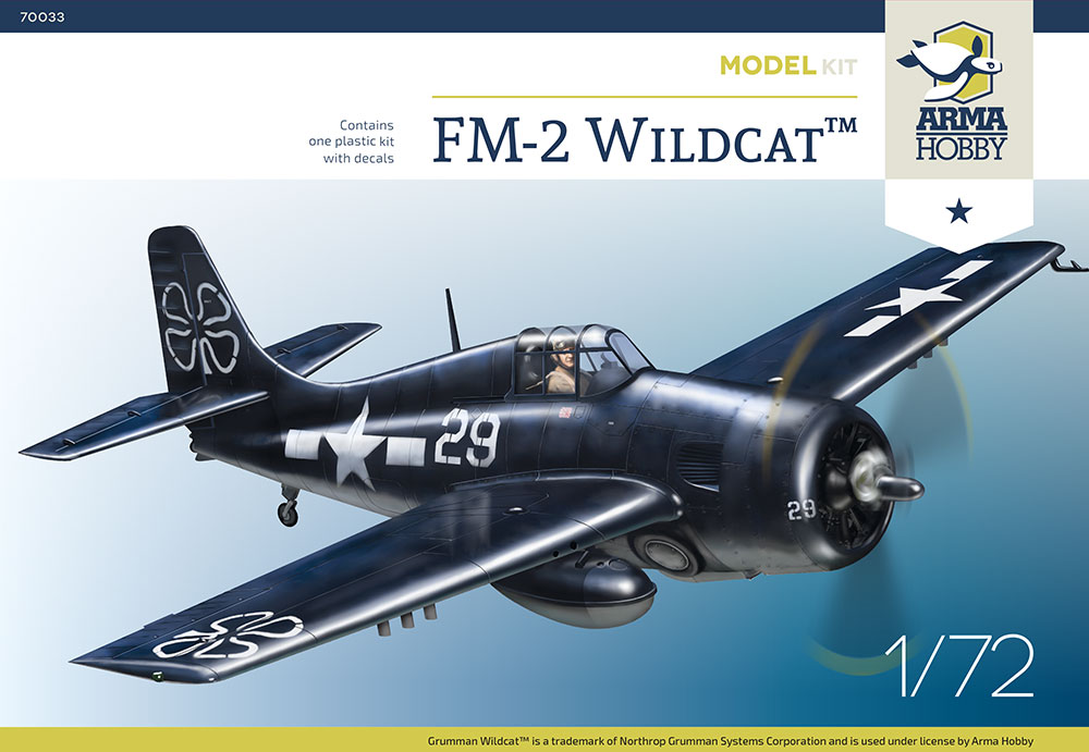 Arma Hobby FM-2 Wildcat Model Kit