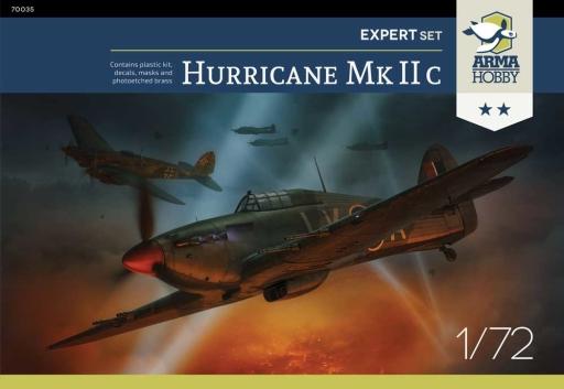 Arma Hobby Hawker Hurricane Mk IIc Expert Set