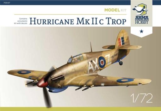 Arma Hobby 1/72 Hurricane Mk IIc Trop Model Kit
