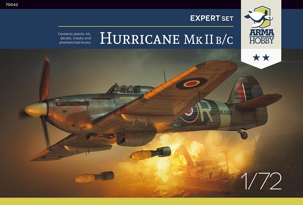 Arma Hobby 1/72 Hurricane Mk II B/C Expert Set