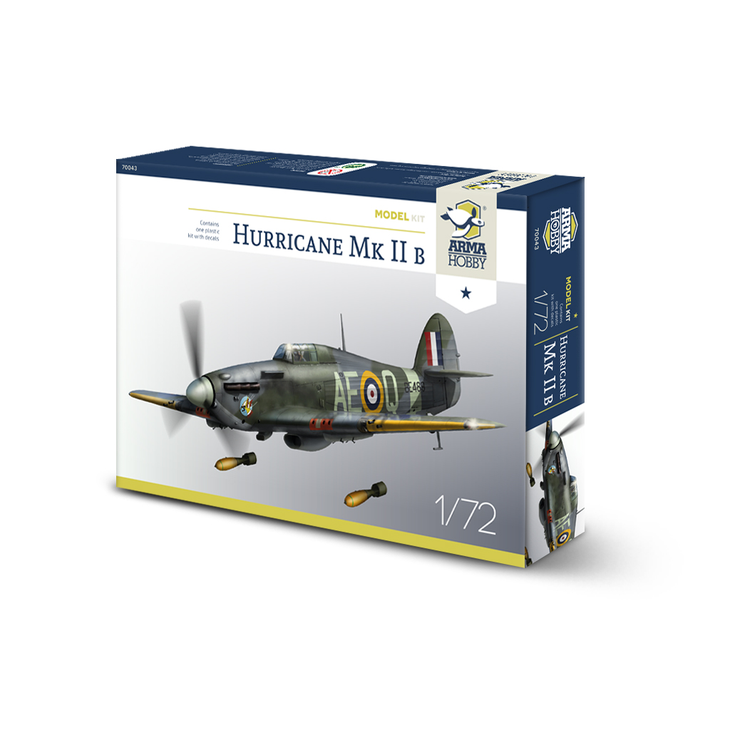 Arma Hobby Hurricane MK II B Model Kit