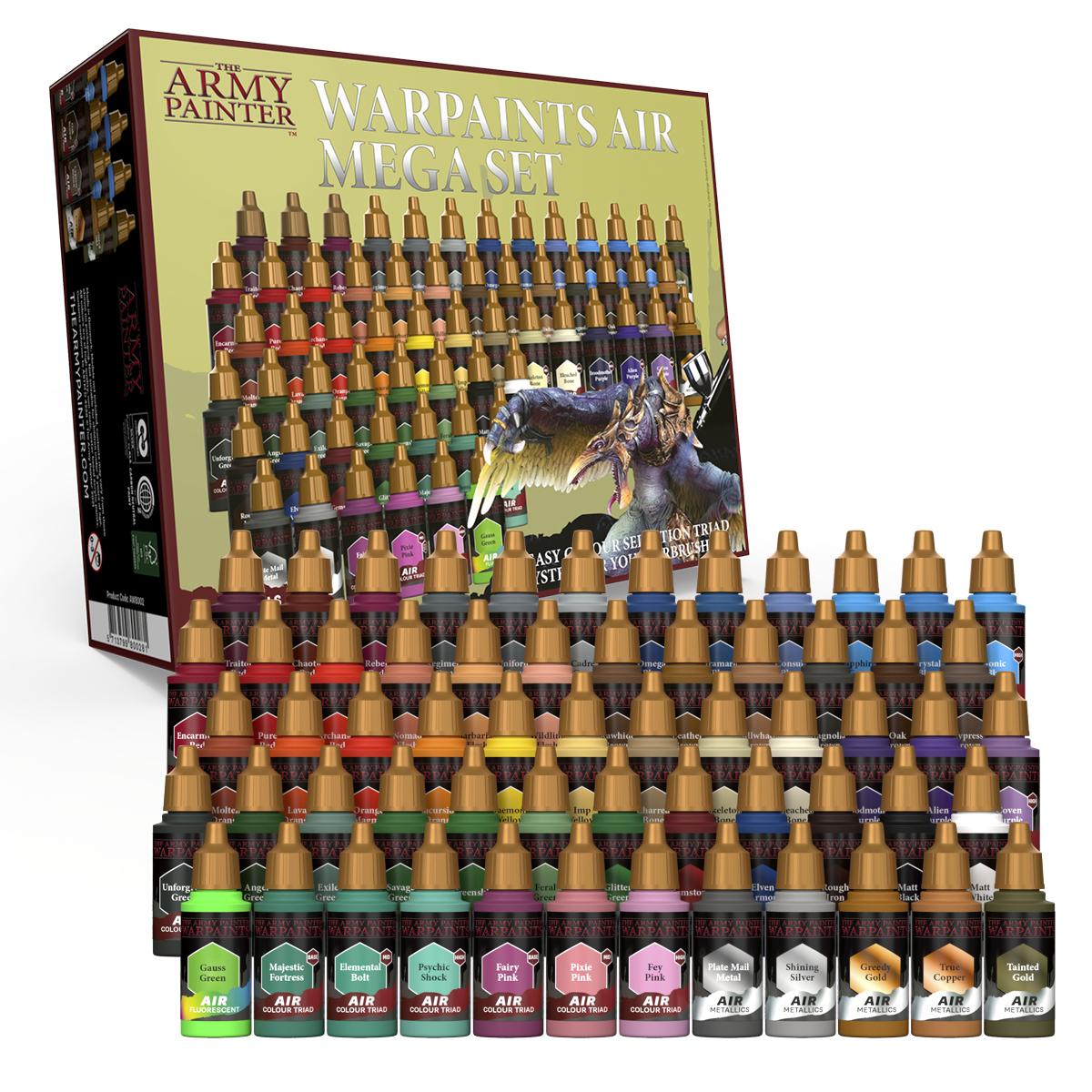 Army Painter Warpaints Air Mega Set