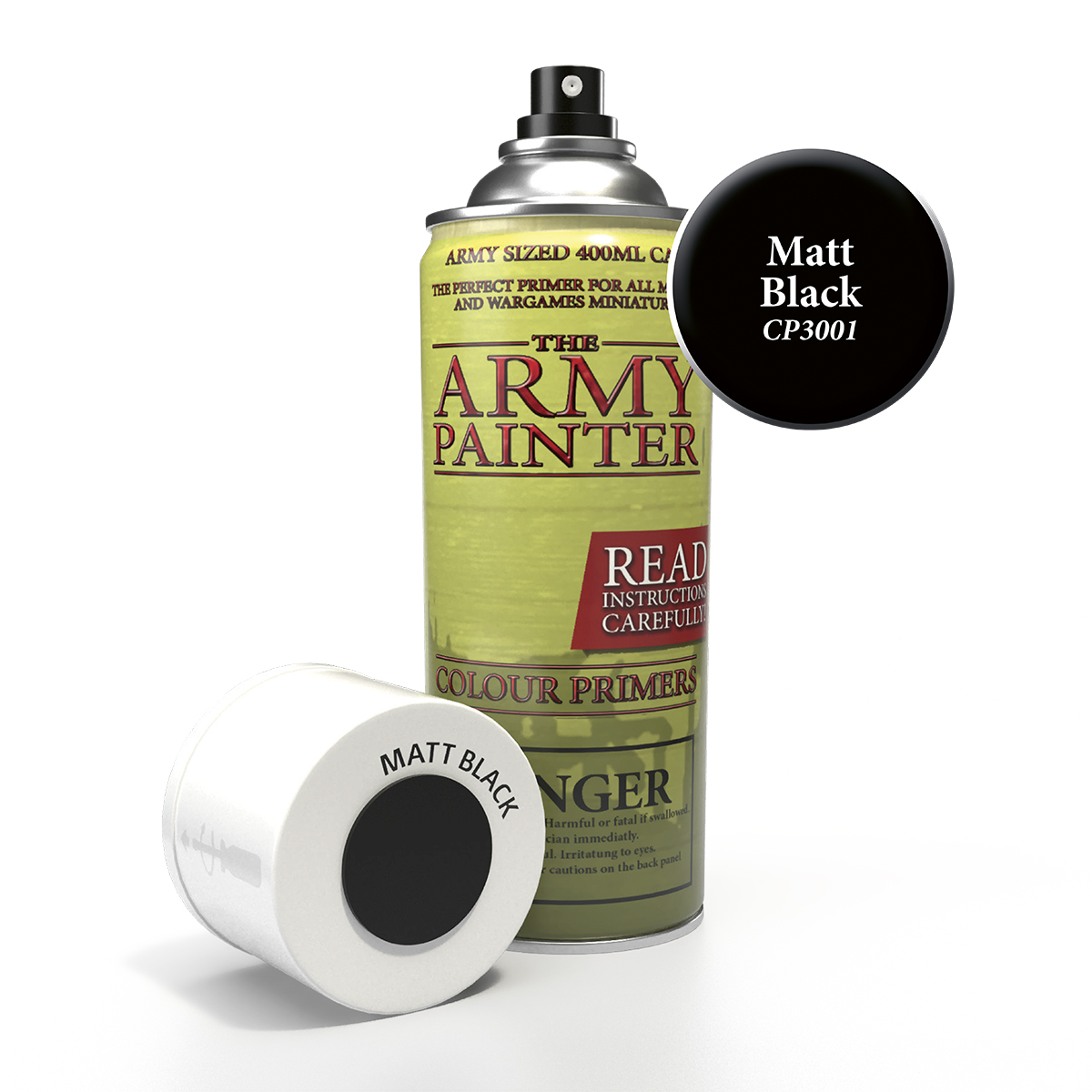 Army Painter Base Primer - Matt Black