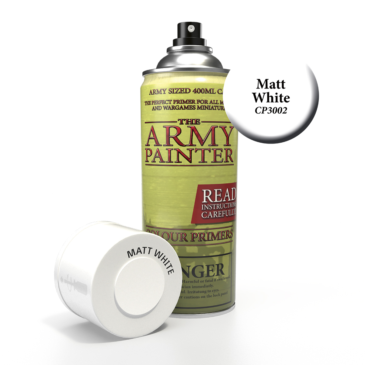 Army Painter Base Primer - Matt White