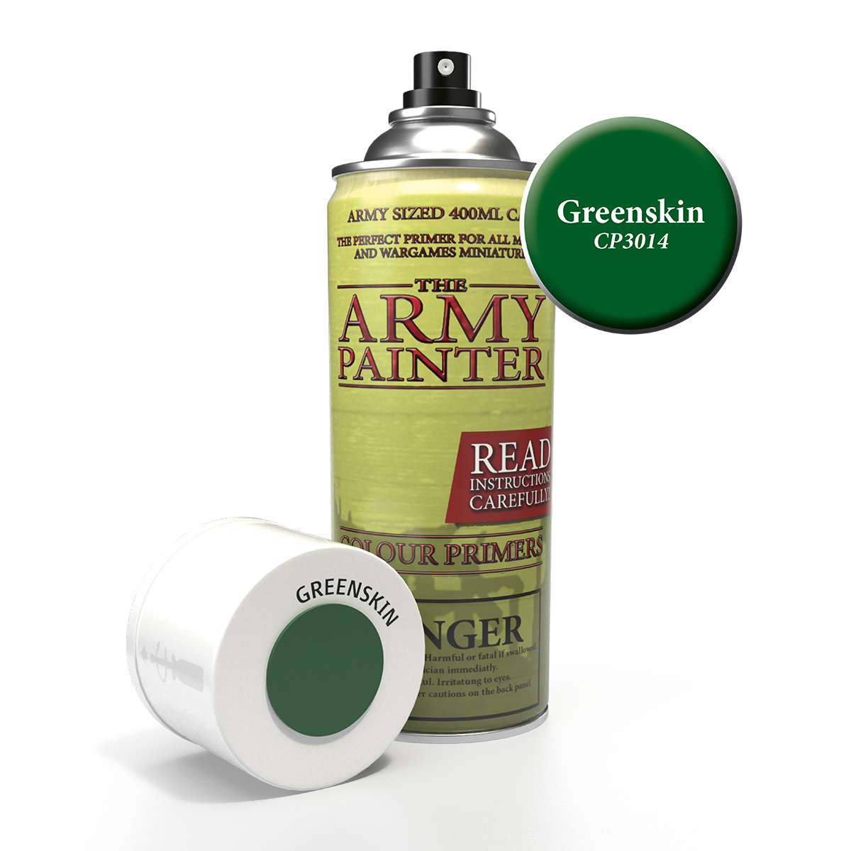 Army Painter Colour Primer - Greenskin