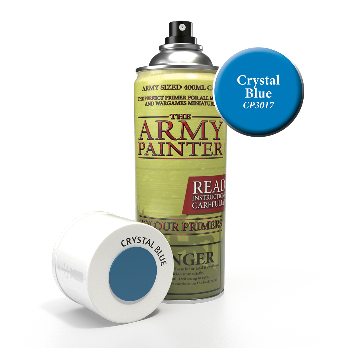Army Painter Colour Primer - Crystal Blue