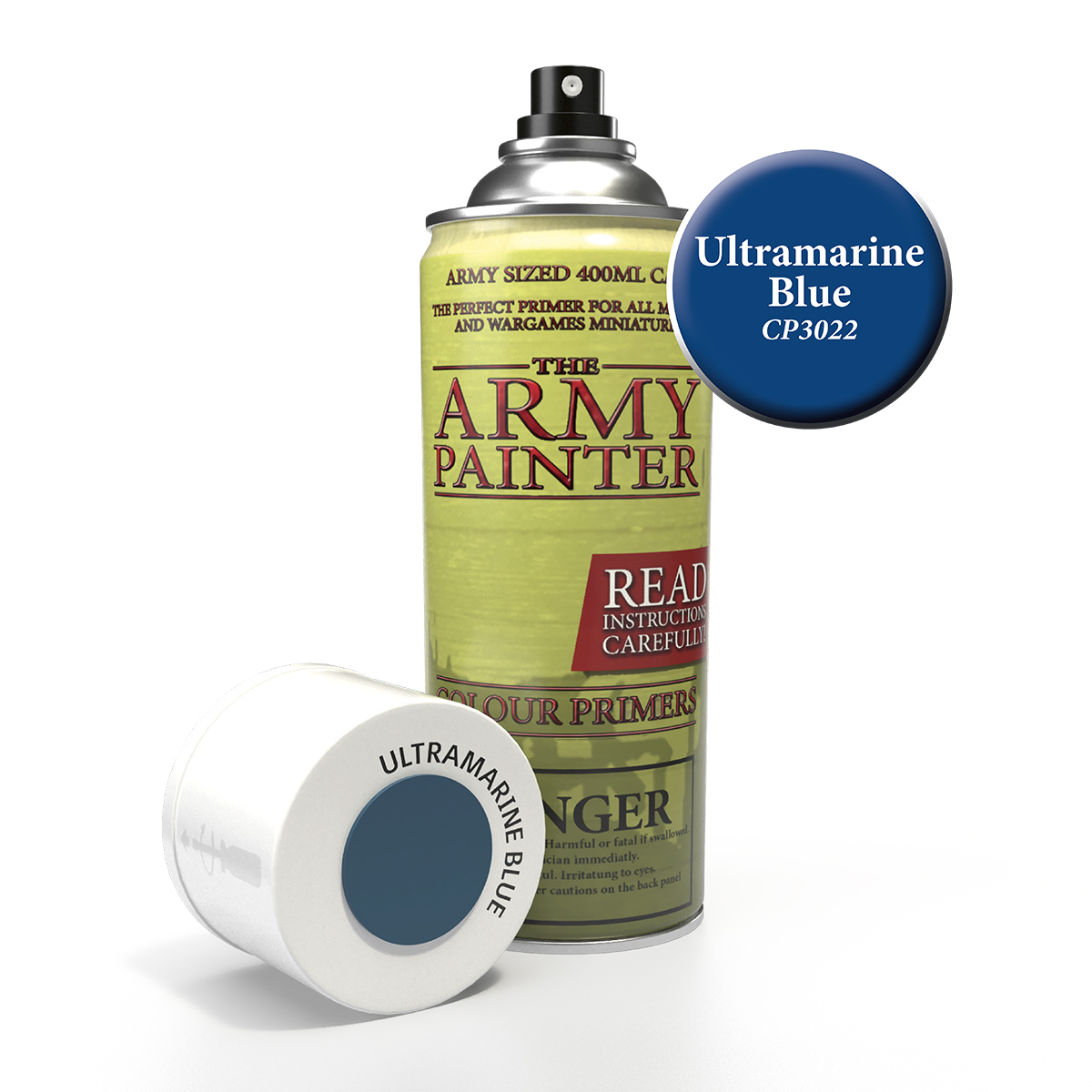 Army Painter Colour Primer - Ultramarine Blue