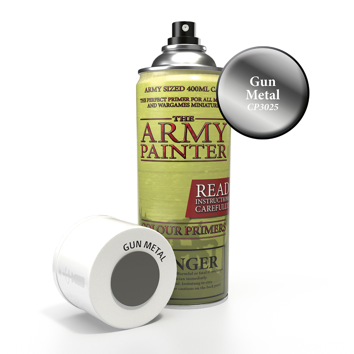 Army Painter Colour Primer - Gun Metal