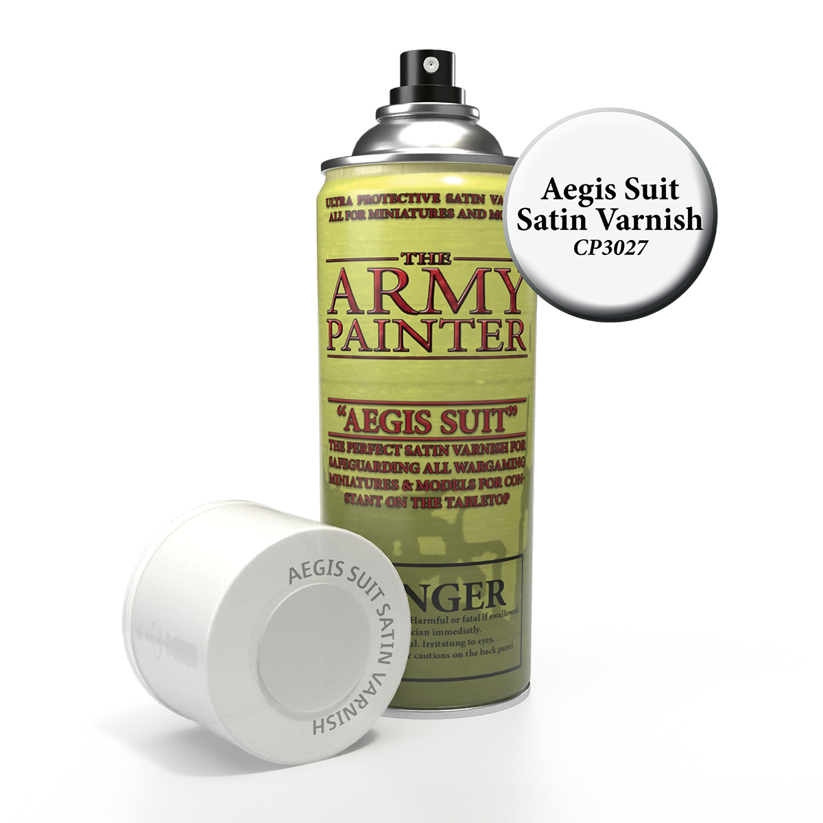 Army Painter Base Primer - Aegis Suit, Satin Varnish