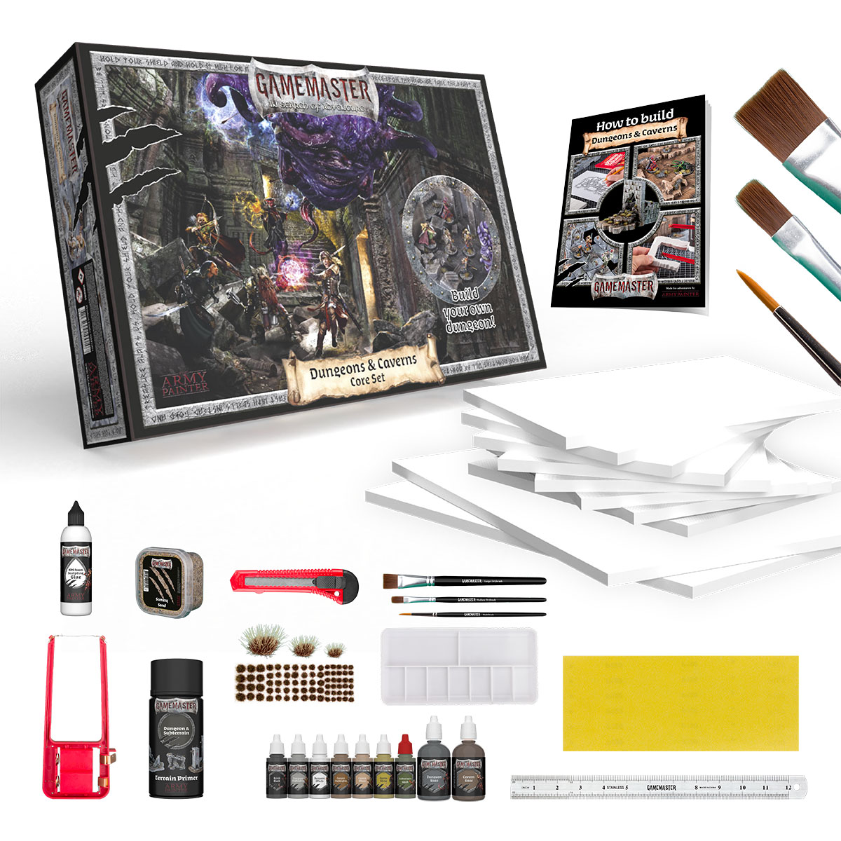 GAMEMASTER Dungeons & Caverns Core Set, GM1001