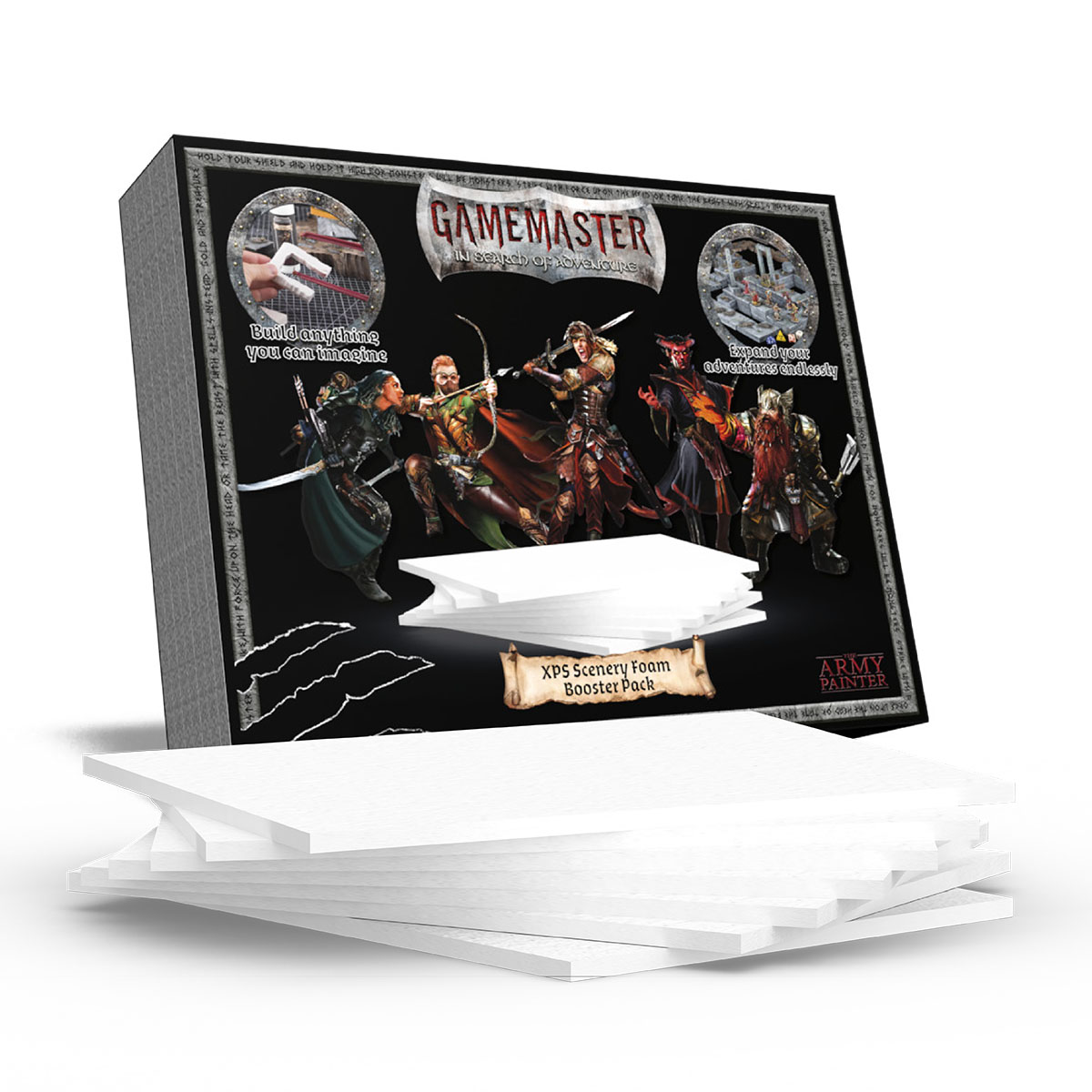 GAMEMASTER XPS Scenery Foam Booster Pack, GM1003