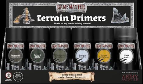 GAMEMASTER Terrain Sprays Display Pack