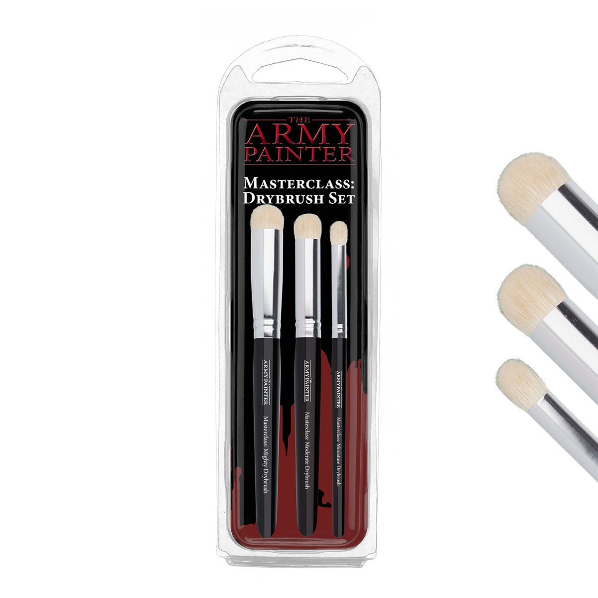 Army Painter Masterclass Dry brush Set, 3 pcs