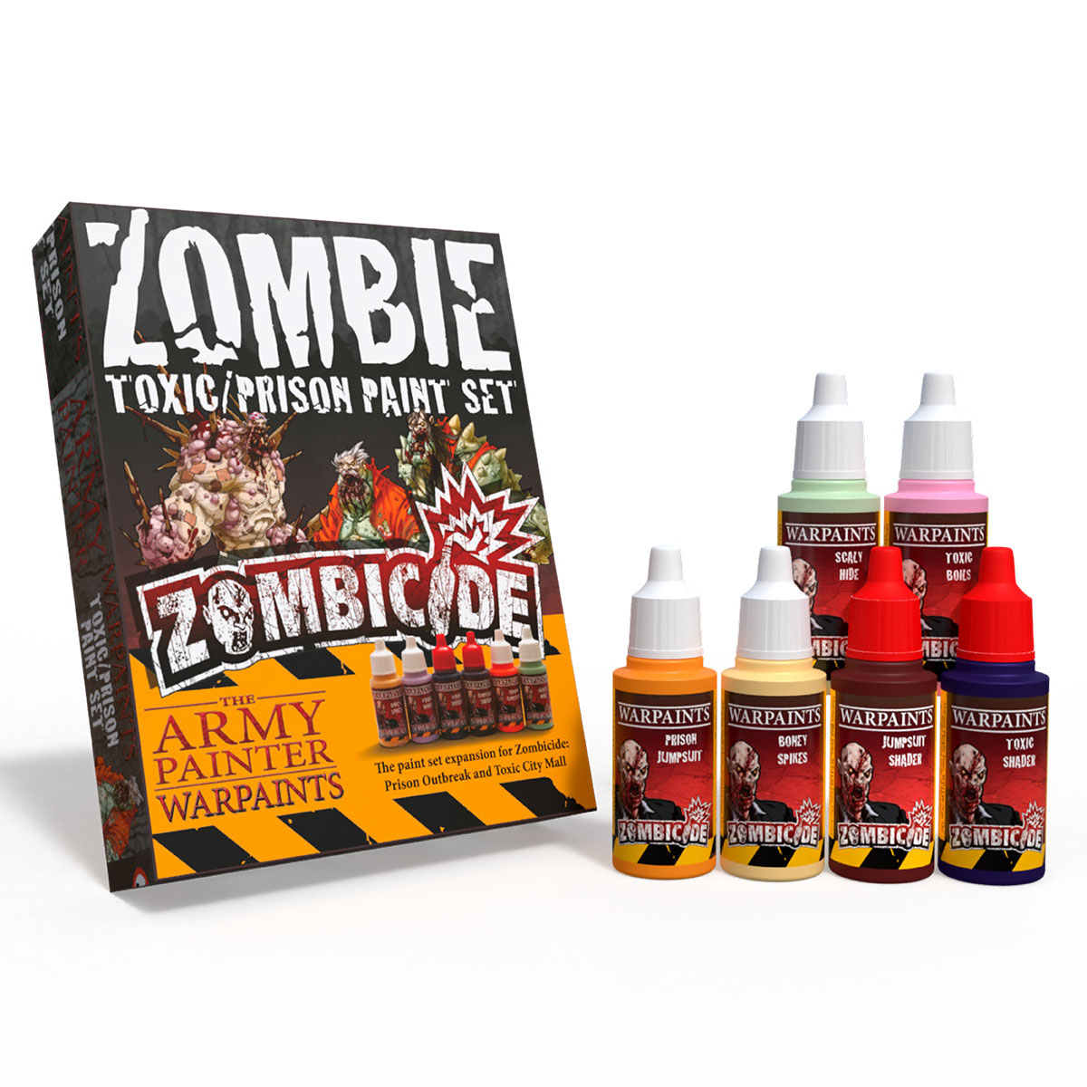 Army Painter Zombicide: Toxic/Prison Expansion Paint Set