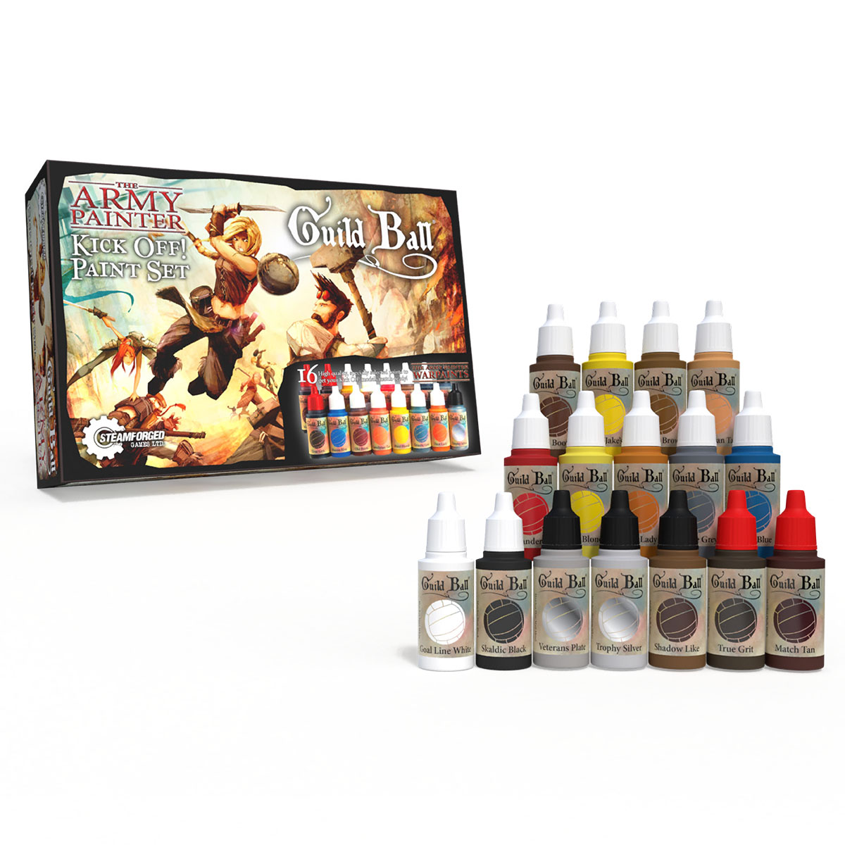 Army Painter Warpaints Guildball paint set
