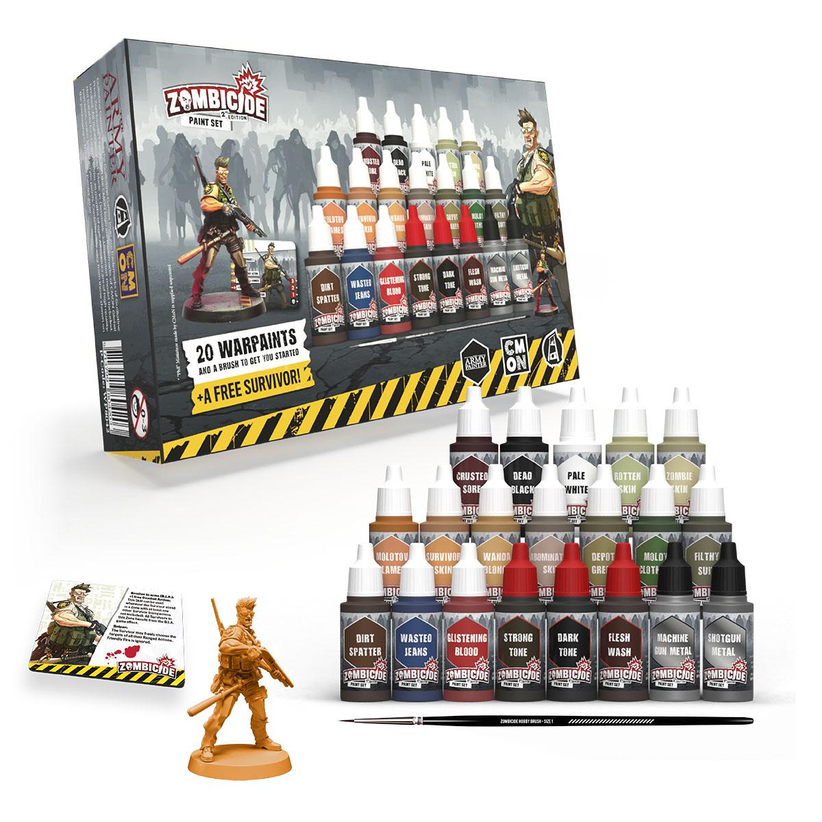 Army Painter Warpaints : Zombicide Paint Set 2nd Edition