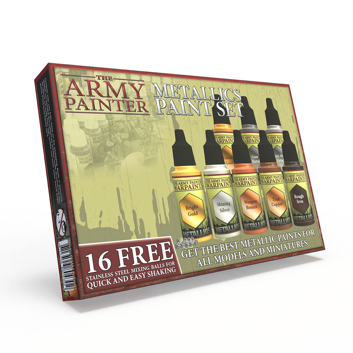 Army Painter Warpaints Metallic Paint Set