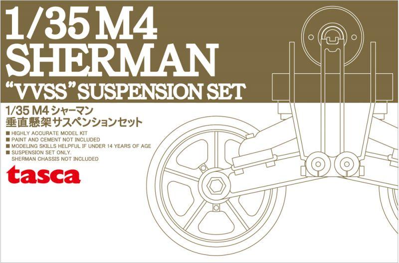 "Asuka 1/35 M4 Sherman ""VVSS"" suspension set C (Initial)"