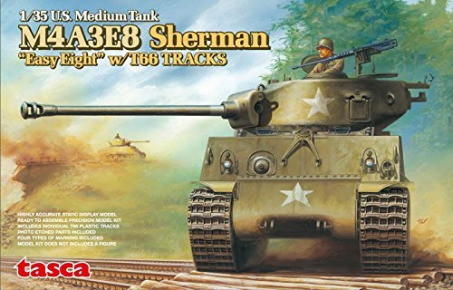 Asuka 1/35 M4A3E8 Sherman Easy Eight w/ T66 Tracks