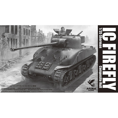 Asuka 1/35 British Sherman IC FIREFLY composite hull