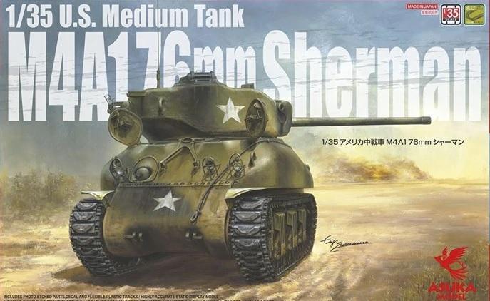 Asuka 1/35 M4A1 76mm