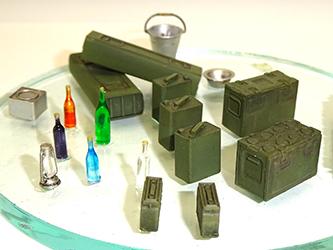 Asuka 1/35 WWII British Army Accessories set