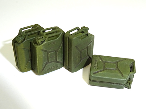 Asuka 1/35 WWII British Army Jerry can set