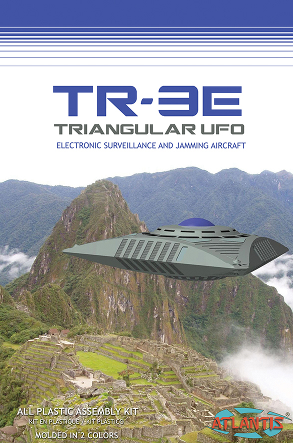 Atlantis TR3 UFO with Base