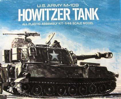 Atlantis 1/48 M-109 Howitzer Tank