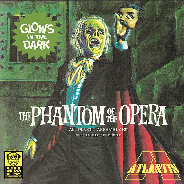 Atlantis 1/8 Phantom of the Opera Glow in the Dark Edition
