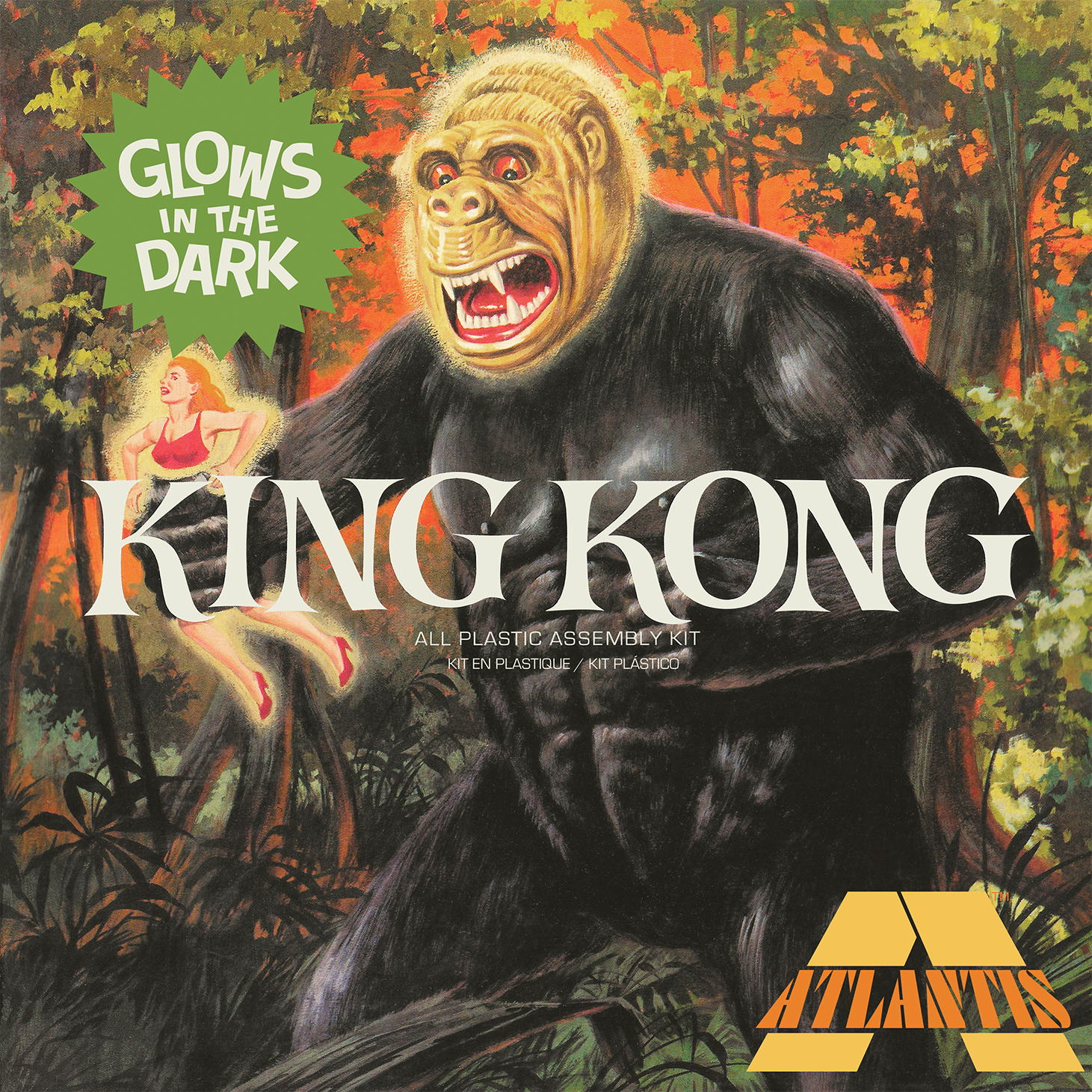 Atlantis 1/30 King Kong Glow Edition