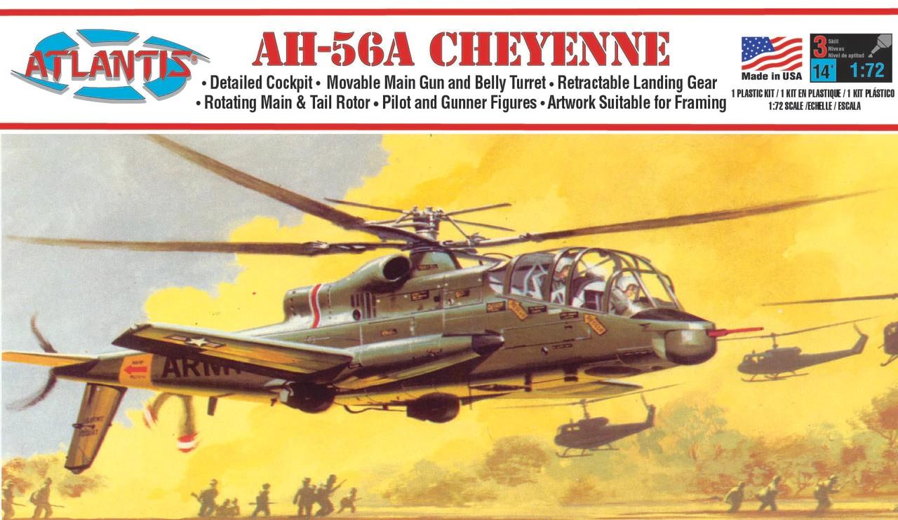 Atlantis Cheyenne Helicopter