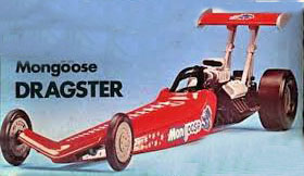 Atlantis 1/32 Snap American Rail Dragster