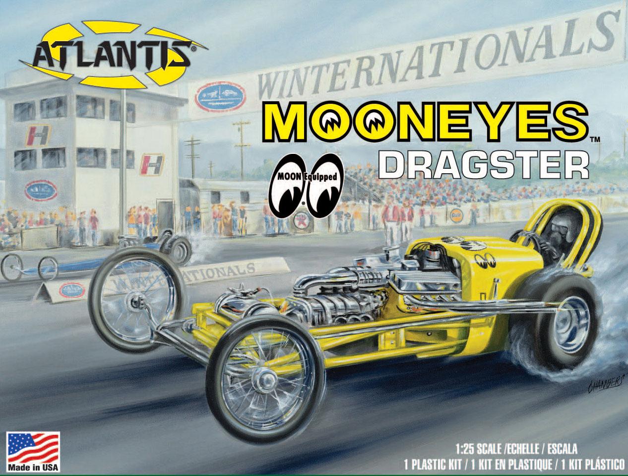 Atlantis 1/25 Mooneyes Dragster