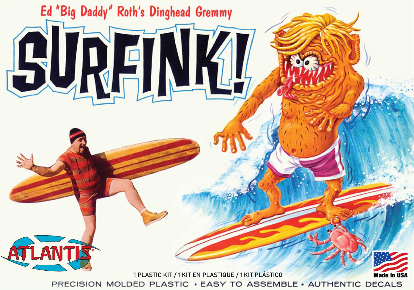 Atlantis Ed Big Daddy Roth Surfink