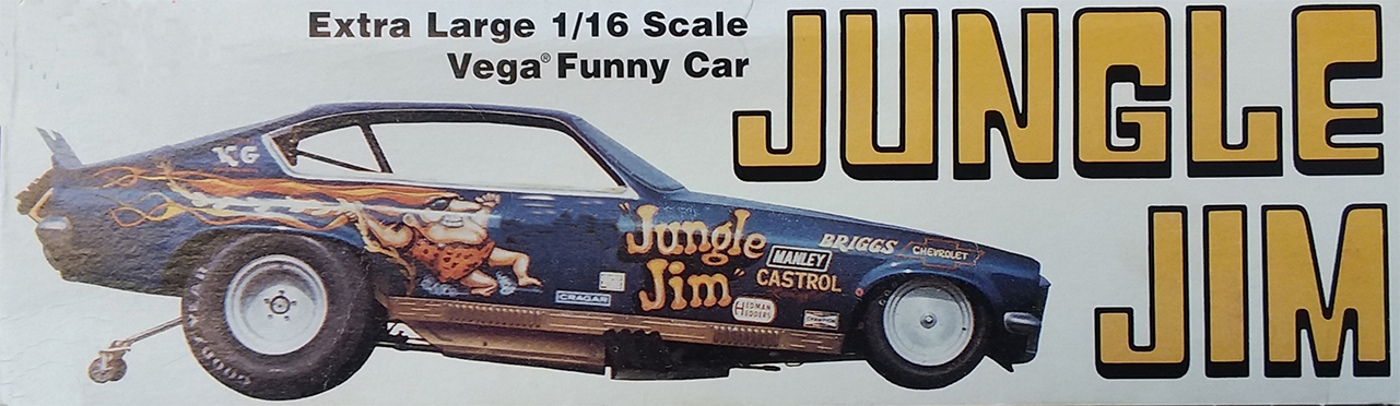 Atlantis 1/16 Jungle Jim Vega Funny Car