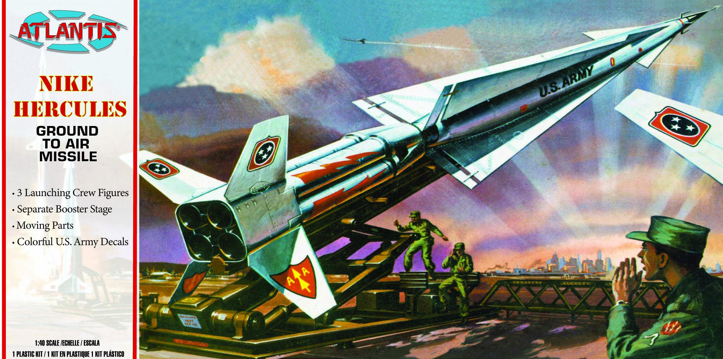 Atlantis 1/40 Nike Hercules Missile US Army