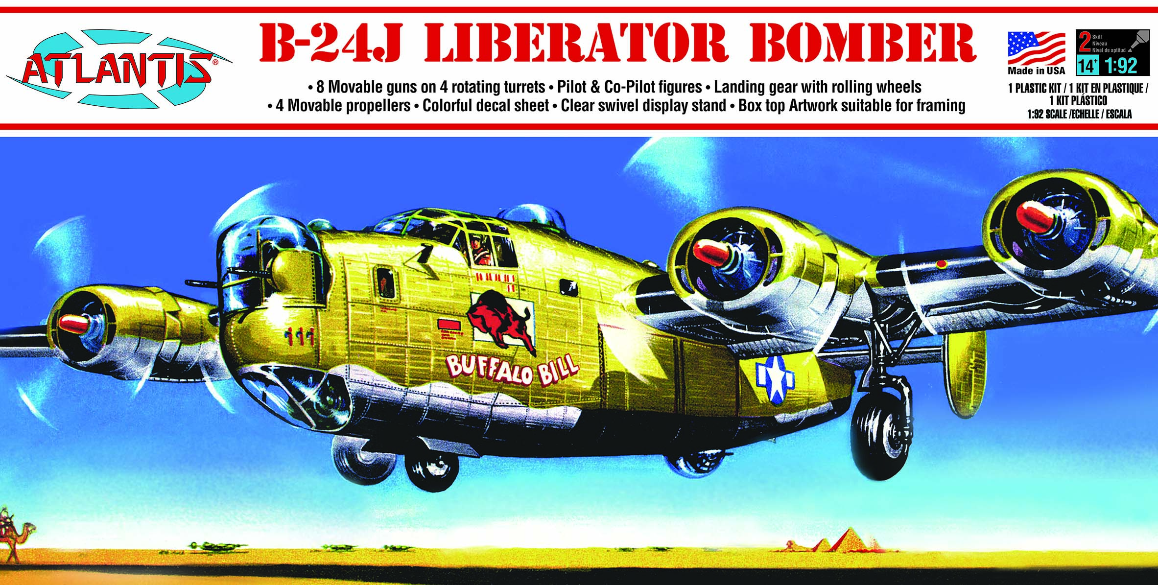 Atlantis B-24J Liberator Buffalo Bill